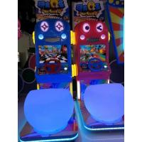China 4 Colors Driving Arcade Machine , Cute Design Racing Game Arcade Machine factory