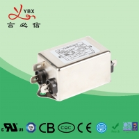 China 6A 1.5KW DC Line Noise Filter / LCD Power Line Signal Filter Compact Size factory