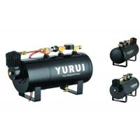 China Durable Black Small 2 In 1 Air Lift Suspension Compressor With 1.0 Gallon Air Tank factory
