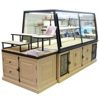 Buy cheap Customized Bakery Glass Display Case High Temperature Resistance With Led from Wholesalers