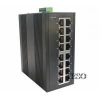 Buy cheap 24 VDC Optical Ethernet Switch DIN Rail High Speed With FCC Part 15 from wholesalers