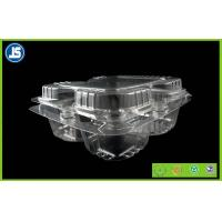 Buy cheap Disposable Plastic Food Packaging Trays / Eco-friendly Fruit Punnet from Wholesalers
