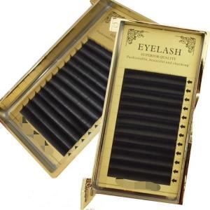 China Makeup Soft Silk Eyelash Extensions / Real Mink Fur Eyelash Extensions on sale