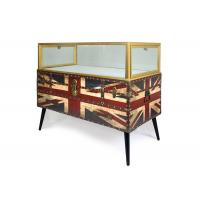 Buy cheap Nordic Style Digital Products Showcase / Phone Display Cabinet Luxurious Glass Material from Wholesalers