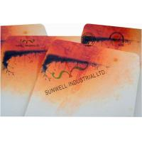 Buy cheap Double Window Custom Packaging Envelopes Multi Colors Autumn Full Printing from Wholesalers