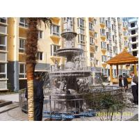 Buy cheap Chinese outdoor brige fountain stone fortune ball for hotel&villa project design from Wholesalers