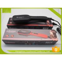 China LT-100A New Style Hair Beauty Electric PTC Heater Hair Straightener Brush on sale