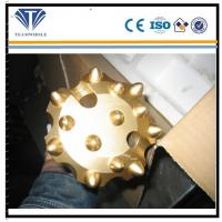 Carbide Material DTH Drilling Tools Flat Spehrical DHD3.5 Drill Bit
