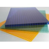Buy cheap Lexan Multiwall Polycarbonate Sheet / 10mm Polycarbonate Insulated Roofing from wholesalers