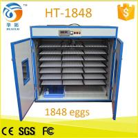 China Monthy top selling 1848 egg incubator poultry machine HT-1848 factory