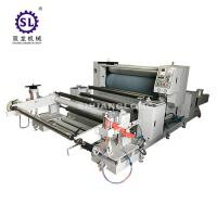 China 40 - 100 m/min Edge Speed Guide Automatic Embosser For Baby Diaper factory