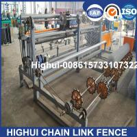 China High Speed Automatic Sport Fence Mesh Machine (Double Wire Feeding) factory