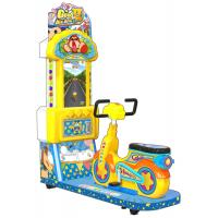 China Indoor Bicycle Simulator Game , Coin Operated Type Arcade Kiddie Rides factory