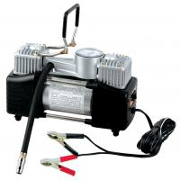 China Double Cylinder 180W Metal Air Compressor 12 Volt 150 Psi With Gauge factory
