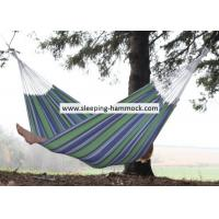 Buy cheap Luxury Family Soft Fabric Cotton Brazilian Style Double Hammock With Stand 260 X 190 Cm from Wholesalers
