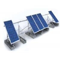 Buy cheap 1.4KN/M2 Solar Panel Roof Mounting Systems Customized Color Aluminum Stainless Steel Structure from Wholesalers
