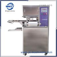 China stretch filmsoap wrapping machine with in-feed Transfer belt for hotel medicine soap factory