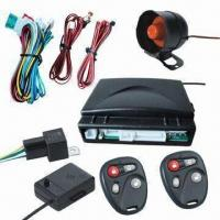 China Car Alarm System with Positive and Negative Side-door Triggering Function factory