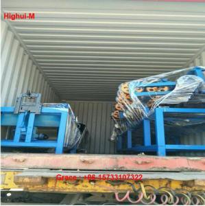 China 2m-4m Width Full Automatic 2 Wire Feeding Diamond Fence Roll Mesh Machine factory