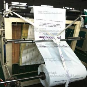 China Plastic donation bags, charity sacks, green sacks, yellow bags, pe envelope, charity bags factory