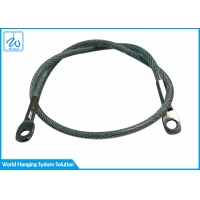 Buy cheap Single Leg 2mm Stainless Steel Wire Rope Sling With Thimble Eye from wholesalers