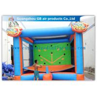 China Commercial Strong Inflatable Sports Games Throwing Toy Interactive Party Games factory