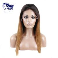 Buy cheap Curly Front Lace Wigs / 100 Human Hair Lace Front Wigs Blonde Wigs Human Hair from Wholesalers