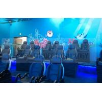China Black Motion Seat Cinema 5D Simulator System With Three Dimensional Movies factory