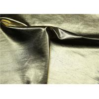 Custom PU Synthetic Leather Gold Pearlied Color 54