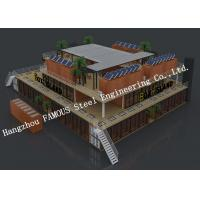 Buy cheap Customized Modular Prefab Container House For Shopping Center Or Coffee Bar from Wholesalers