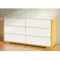 Buy cheap 1.1 Meters Length High Gloss Bedroom Furniture 6 Drawer Chest /Dresser With E1 Board from Wholesalers
