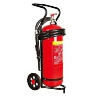 China 50 kg Trolley Wheeled Dry Powder Fire Extinguisher Test Pressure 25 Bar For Subway on sale