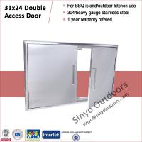 Buy cheap Barbecue island built-in 31 inch double door,stainless steel 304 from Wholesalers
