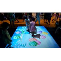 China 5500/3200 Lumen Interactive Video Projection , Interactive Projection Games factory