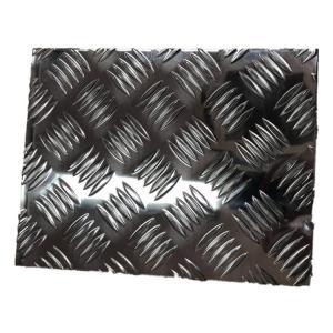 China Machine / Vehicle Flooring Aluminium Checker Plate Aluminum Pattern Embossed Sheet factory