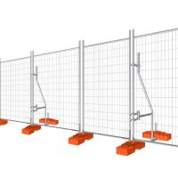 China Temporary Fencing Panel Construction Galvanised temporary site security fencing on sale