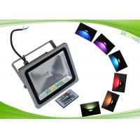 China 30W RGB Led Flood Light Outdoor Security Lighting with Memory Function and Remote on sale