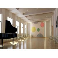 China Music Room Decoration 3d Acoustic Wall Panels Touchable Moistureproof on sale