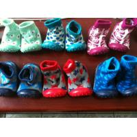 China injection baby boots bay socks. rubber sole ,VERY comeptitve price factory