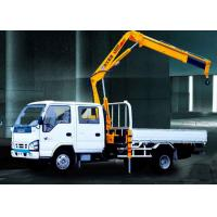 China XCMG Durable Arm Move Fast Articulated Boom Crane , 3.2 Ton Truck With Crane factory