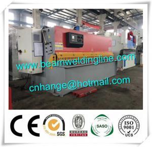China QC12Y Hydraulic Shearing Machine , Swing Shearing Machine 10x3200 factory