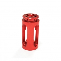 China Guangmao Red Anodized 6061 Aluminum Cylinder Heads factory