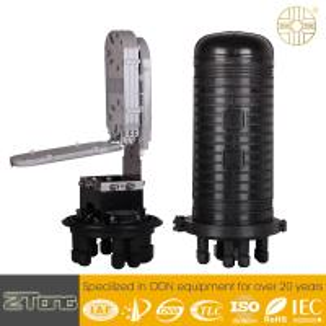 12-24F Fibers / Tray Fiber Optic Connection Box Dome Enclosure Moisture Proof