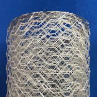 Buy cheap Polyster Hexagonal Chicken Wire Netting for River / Gabion Wire Mesh from Wholesalers