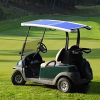 Buy cheap 2  seat  Solar golf cart from Wholesalers