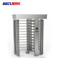 China Pedestrian Automatic Sliding Security Entrance Control Swing RFID Turnstile Barrier Gate factory