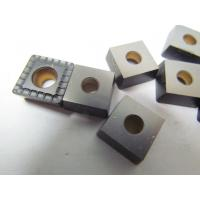 Buy cheap TiN Coating Metal Lathe Carbide Inserts / Durable Custom Carbide Inserts from Wholesalers