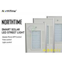 China 6500K Philippines LED Solar Street Lights Charge Time 6-7 Hours With Sunshine on sale