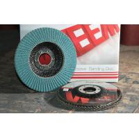 Buy cheap Angle Grinder Flap Disc Type P27 / P120 Grit Zirconia Alumina Sanding Disc from Wholesalers