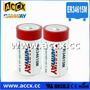 China er34615m lithium battery 14.5Ah 3.6V factory
